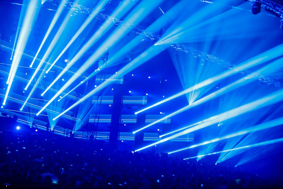 Fully Packed Clf Lighting Rig For I Am